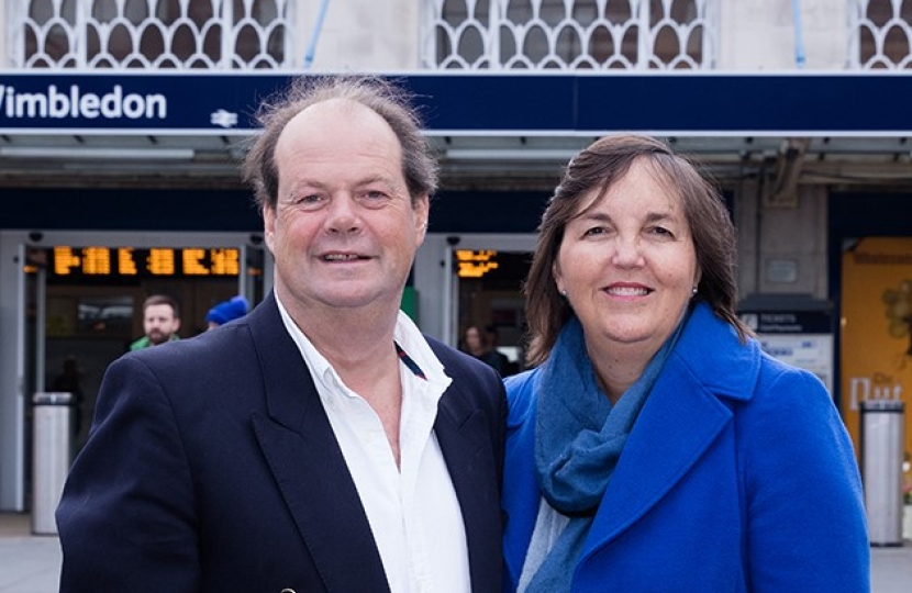 Stephen Hammond MP & Cllr Oonagh Moulton