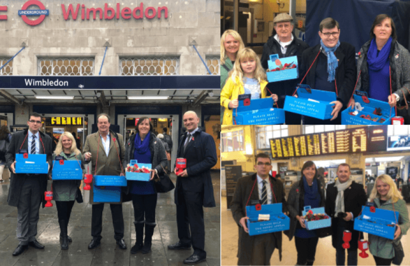 Merton Conservatives 2018 Poppy Appeal
